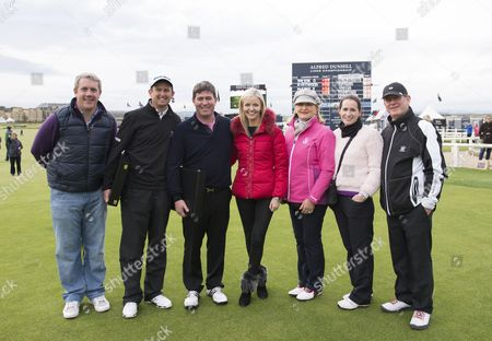 Stock Picture of The McManus family with Peter Lawrie, Pro Partner of Keiran who won the Pro-Am