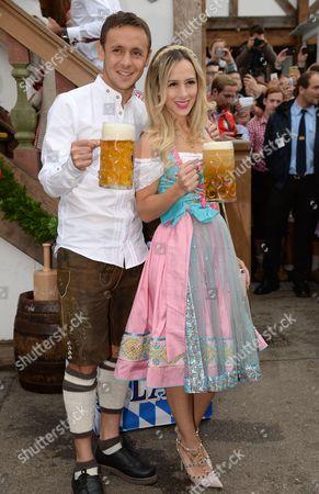 Editorial image of FC Bayern at Oktoberfest, Munich, Germany - 05 Oct 2014