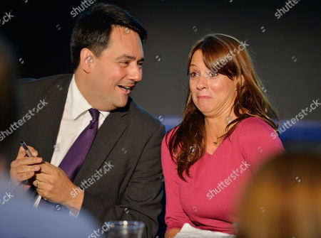 Sec. Of State For Education Stephen Twigg With Gloria De Piero At A Progress Rally Fringe Meeting Labour Party Annual Conference At The Brighton Centre East Sussex.  22.9.13.