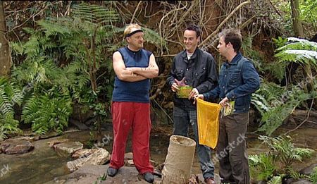Editorial image of 'I'M A CELEBRITY GET ME OUT OF HERE' TV SHOW, QUEENSLAND, AUSTRALIA - MAY 2003