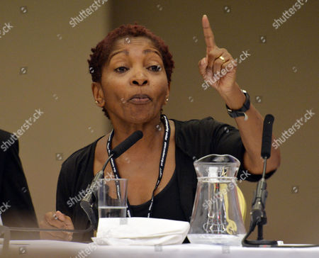 Author Bonnie Greer Speaks At The Labour Party International Womens Conference At The Hilton Hotel Brighton Labour Party Annual Conference At The Brighton Centre East Sussex.  21.9.13.