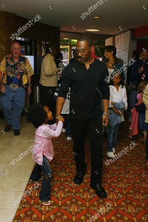 Eddie Murphy with daughter Zola Ivy