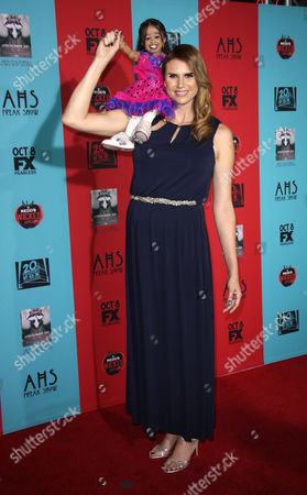 Editorial image of 'American Horror Story: Freak Show' TV series premiere, Los Angeles, America - 05 Oct 2014