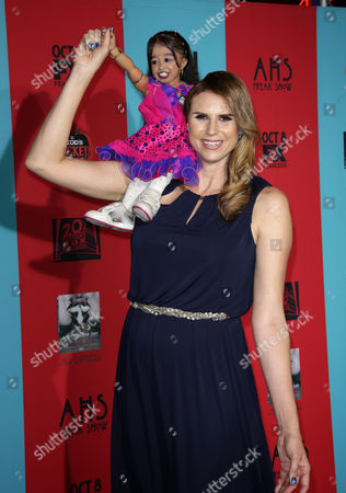 Editorial photo of 'American Horror Story: Freak Show' TV series premiere, Los Angeles, America - 05 Oct 2014