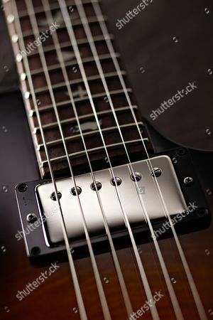 Detail Of The S2 7 Bass Humbuckers On A Prs S2 Singlecut Electric Guitar