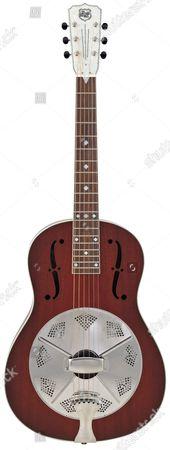 A National Reso-phonic M2 Mahogany Resonator Guitar