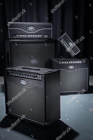 A Selection Of Amplifiers From The Peavey Valveking Range Including (Clockwise From Top Left) A 100-watt Head 20-watt Micro Head 50-watt Combo And 20-watt Combo