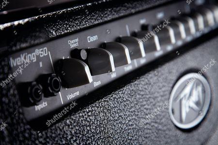 Detail Of The Eq Controls On A Peavey Valveking 20-watt Combo Amp