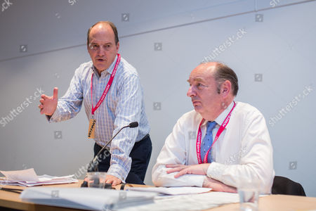 Simon Hughes and Norman Baker at a fringe meeting