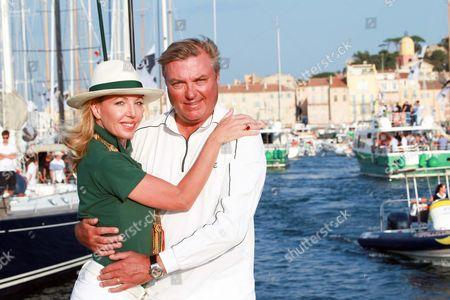 Editorial photo of Prince Charles of Bourbon at the 'Voiles de Saint-Tropez' yacht race, Saint-Tropez, France - 04 Oct 2014