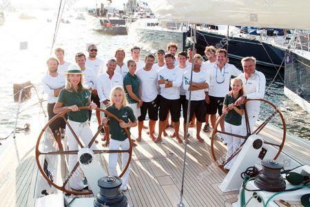 Editorial image of Prince Charles of Bourbon at the 'Voiles de Saint-Tropez' yacht race, Saint-Tropez, France - 04 Oct 2014
