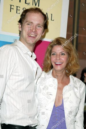 Candace Bushnell and husband Charles Askegard