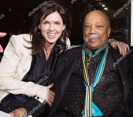Editorial image of Quincy Jones recieves the Grand Commander of the Order of Arts and Letters award, Paris, France - 06 Oct 2014
