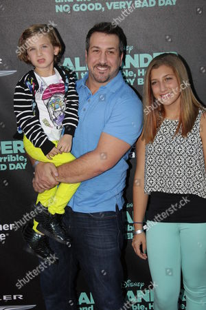 Joey Fatone with daughters Kloey and Briahna Fatone
