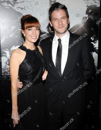 Gary Shore and fiancee