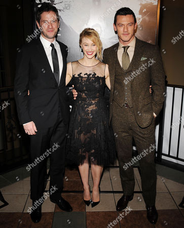 Gary Shore, Sarah Gadon and Luke Evans
