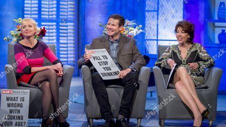 Anna Webb, Olly Mann and Kathy Lette