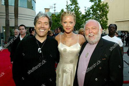 Mario Kassar, Kristanna Loken and Andy Vajna