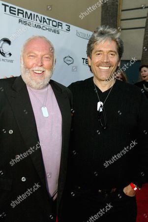 Andy Vajna and Mario Kassar