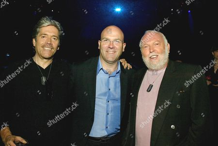 Mario Kassar, Bruno Bonnell and Andy Vajna