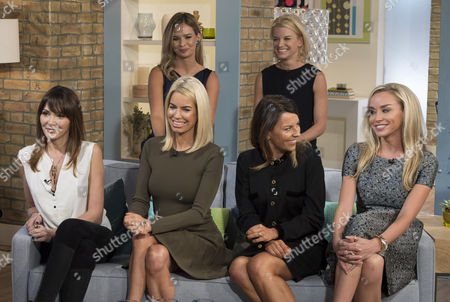 Front Row: Annabelle Nielsen, Caroline Stanbury, Juliet Angus and Noelle Reno. Back Row: Marissa Hermer and Julie Montagu.