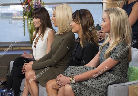 Front Row: Annabelle Nielsen, Caroline Stanbury, Juliet Angus and Noelle Reno.