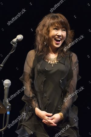 Editorial picture of Youn Sun Nah in concert, Brussels, Belgium - 05 Oct 2014