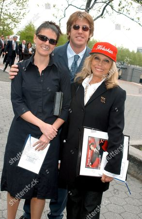 Editorial image of RENAMING OF THE HOBOKEN POST OFFICE IN HONOUR OF FRANK SINATRA, NEW JERSEY, AMERICA - 17 MAY 2003