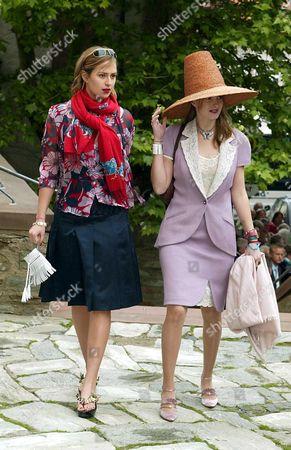 Princess Maria Theresia and Princess Elisabeth von Thurn und Taxis