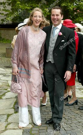 Editorial picture of WEDDING OF PRINCE HEINRICH DONATUS VON HESSEN AND COUNTESS FLORIA FRANZISKA VON FABER CASTELL, KRONBERG, GERMANY - 17 MAY 2003
