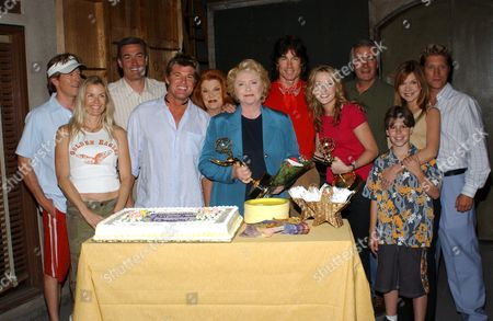 SUSAN FLANNERY, JENNIFER FINNIGAN AND CAST FOR THE BOLD AND THE BEAUTIFUL