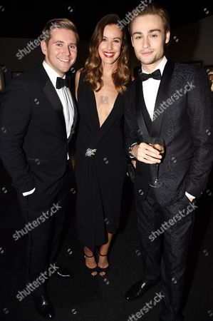 Stock Photo of Allan Leech, Charlie Webster and Douglas Booth