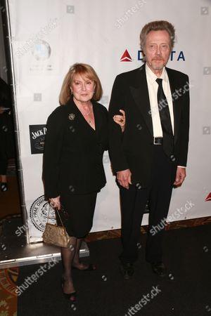 Stock Picture of Georgianne Walken and Christopher Walken