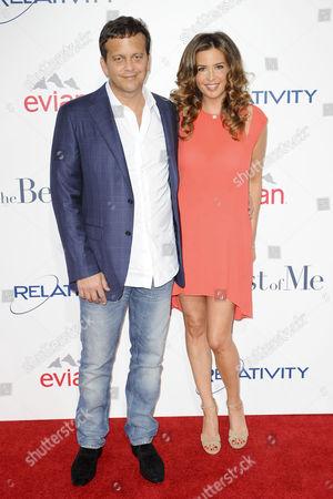 Aaron Zigman and Ashley Cusato