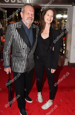 Stock Image of Terry Gilliam and Holly Gilliam