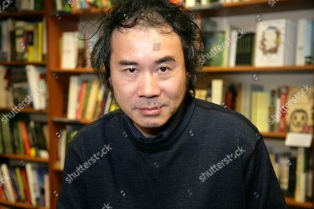 Editorial picture of Chen Xiwo 'The Book of Sins' book promotion at Blackwell's, Oxford, Britain - 08 Oct 2014
