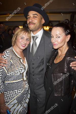 Wendy Frost, Samuel Anderson and Susanna Zaliskyj