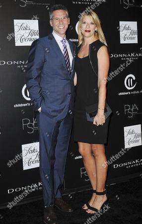 Stock Photo of John Henson, wife Jill