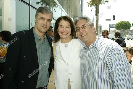 Herb Scanell, Sherry Lansing and Albie Hecht