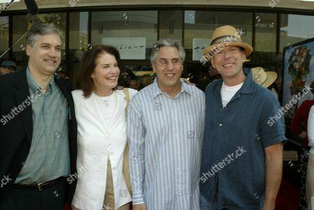 Herb Scanell, Sherry Lansing, Bruce Willis, Albie Hecht