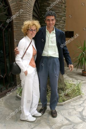 Stock Photo of CECILIA DAZZI AND LUCA D'ASCANIO