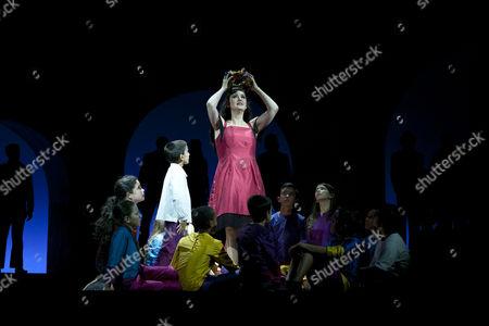 Editorial image of 'Carmen' by Bizet at the Teatro de la Zarzuela, Madrid, Spain - 08 Oct 2014