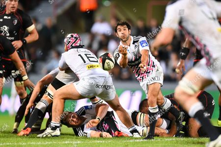 Paris' player Jerome Fillol in action