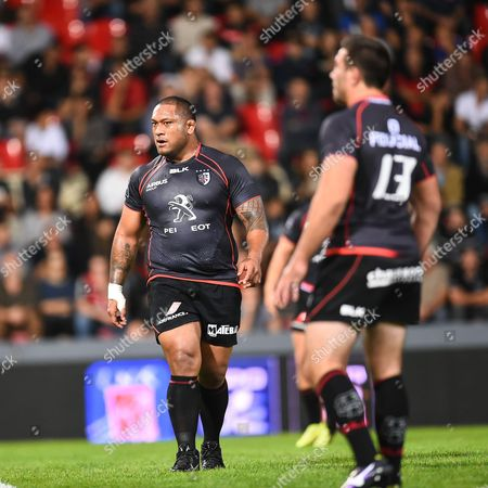 Editorial photo of Stade Toulousain vs Stade Francais Top 14 rugby union match at the Ernest Wallon Stadium in Toulouse, France - 04 Oct 2014