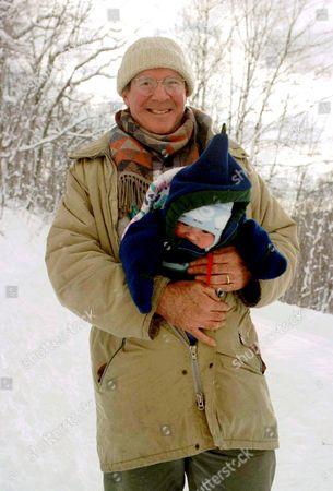 Andy Stewart with his son Hudson Fairclough Stewart