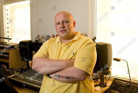 Editorial photo of Richard Stannard record producer and label owner at his home, Brighton, Susex, Britain - 15 Oct 2009