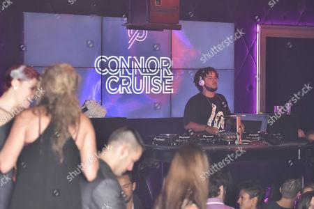 Editorial photo of Connor Cruise DJs at Studio Paris Nightclub, Chicago, Illinois, America - 08 Oct 2014