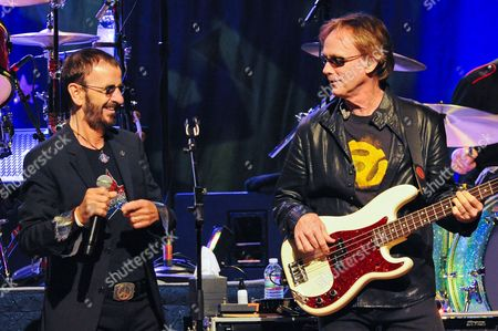 Ringo Starr and Richard Page