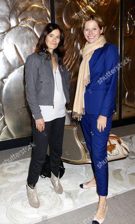 Kate Slesinger and Carole Annett