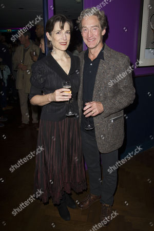 Harriet Walter (King Henry) and Guy Paul